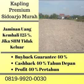 Kapling Tengah Kota (Premium) Paling Murah, Dengan Jaminan SHM Pecah.