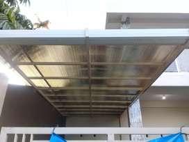 Canopi polycarbonat galvalum alderon solarflet dll
