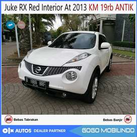 Nissan Juke RX At 2013 Red Interior KM 19rb ANTIK