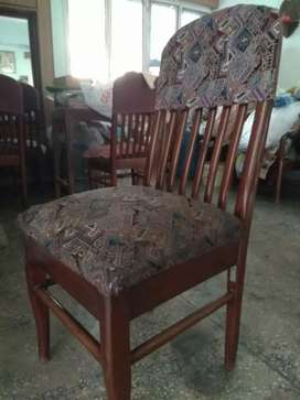 Dining Chairs. Six numbers