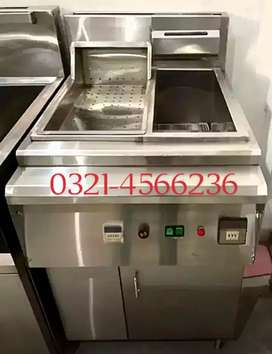 Deep fryer with sizzling 16 litre oil capacity