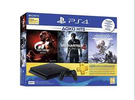Sony Ps4 500GB With 1Year waranty Brand New Seald Box pack