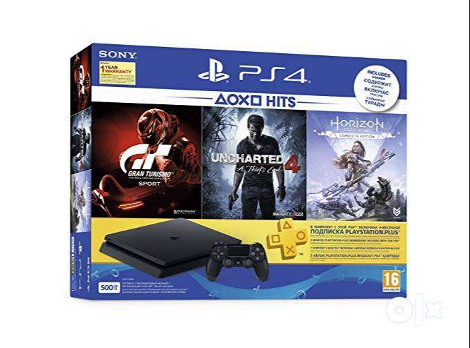 Sony Ps4 500GB With 1Year waranty Brand New Seald Box pack 0