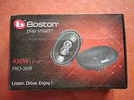 """Boston 430 watt 6"""" * 9"""" car ovel speakers MRP 4990₹"""
