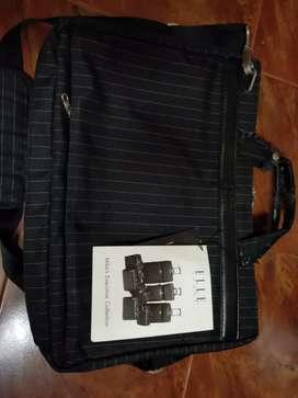 ELLE HOMME laptop bag