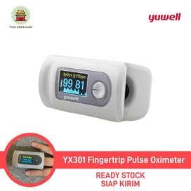 Pulse Yuwell YX301 Fingertip Pulse Oximeter   Alat Saturasi Oksigen