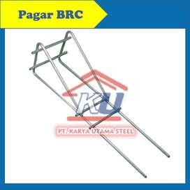 Pagar BRC Hotdip 190 x 240 Besi 6