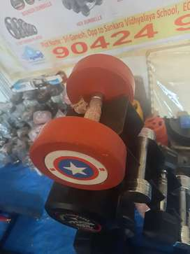 Captain America Round Dumbells available