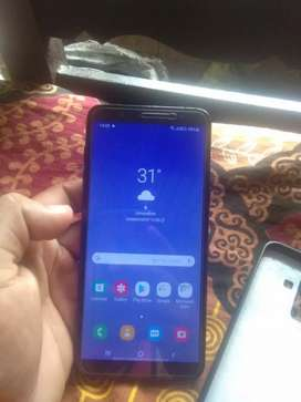 Here I want to sell my fabulous galaxy j8 fully condition