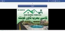KASI BAHARIA QDA SAY MANZO0R SHUDA ISKEEM MAY PARK VIEW PLOT  FOR SALE