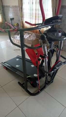 Treadmill 7f RED promo discount murah
