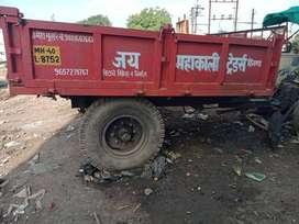 swaraj 744 EF tractor with troli