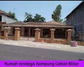 Rumah Strategis Barat Kampung Coklat Blitar