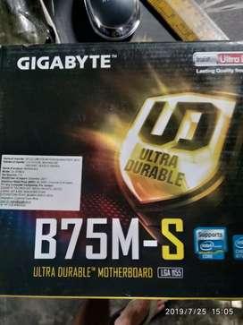 Motherboard B75M-S lga 1155