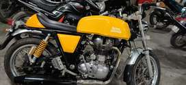 Continental gt yellow royal Enfield