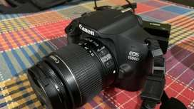 Canon 1500D camra  with kit lens and 50mm lens