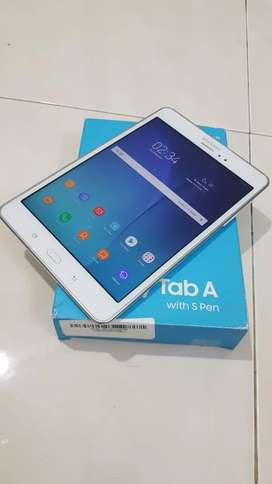 Samsung galaxy Tab A with spen 2/16gb lengkap