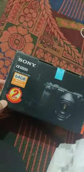 Sony Alpha ILCE 6600M 24.2 MP, Digital SLR Camera with 18-135 mm