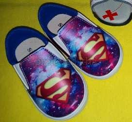 PRELOVED - Sepatu bayi Superman