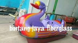 sepeda air bebek angsa warna warni, angsa warna warni gowes