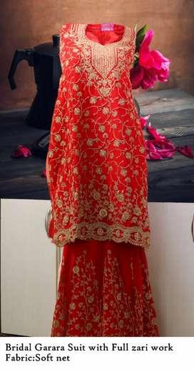 Bridal Garara designer Suit