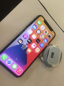 IPHONE X 64GB WITHOUT SCRATCH WITHOUT DENT