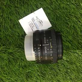 Lensa NIKON AFD 50mm f1.8 bergaransi