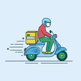 Wanted food delivery boys in kothagudem