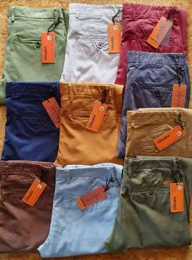 Cotton pant's branded mix lot wholesalers only