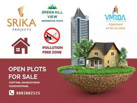 @Get a gated plot  in Vizag city,VUDA Approved