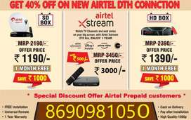 Best Price Dth Settop Box Hd Sd Lowest Price Offer AirtelDth SmartBox