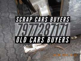 Crashed dead old scrap cars buyers