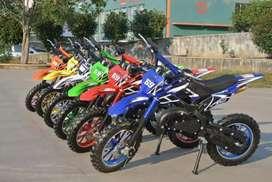 MC69 motor mini cross pocket bike 50cc