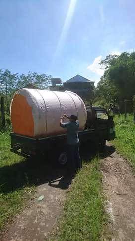 Tandon air 5000 liter hdpe bahan plastik tiga lapis ready