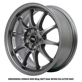 model H10843 HSR R15X7 H8X100-114,3 ET35 SMG