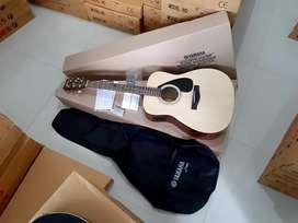 Gitar yamaha f310 original akustik elektrik plus softcase