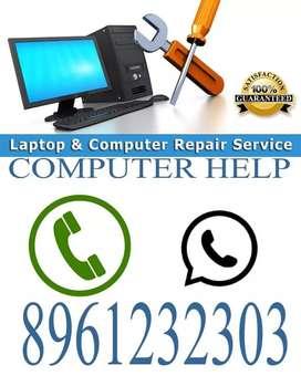 Desktop, Laptop servicing and Printer cartridge refilling