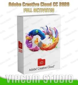 Paket Adobe Creative Cloud Master Collection 2020 Aktive Selamanya