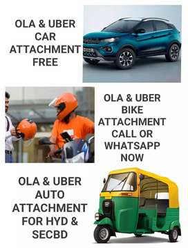 OLA & UBER CAR BIKE & AUTO ATTACHMENT FREE