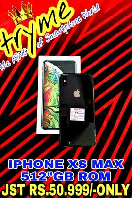 TRYME 512GB Rom XS MAX,IPHONE Fresh Conditions