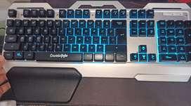 Cosmic byte CB-GK-06gaming keyboard white colour