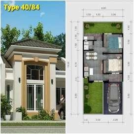 Rumah Murah Dekat ke Stasiun PROMO 5jt All in Tanpa DP Free Biaya2