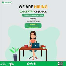 Data Entry Operator( Female Only)