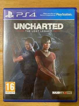Kaset ps 4 uncharted