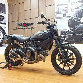 Ducati Scrambler FULL THROTTLE  800 fp plat B, full modif part branded