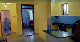 Available 1bhk flat for rent at porvorim