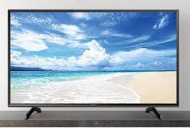 "Cornea 50"" 4K LED TV with warranty Metal body and inbuilt soundbar"