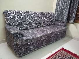 3 seater + single two seater sofa set