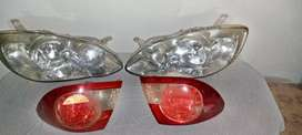 XLi Front and back headlights pair