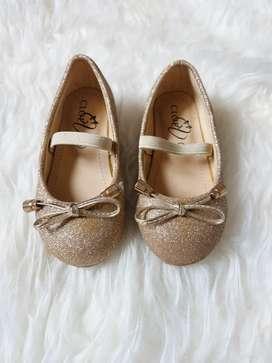 Sepatu Pesta Bayi Merek Cloe Kids Size 21
